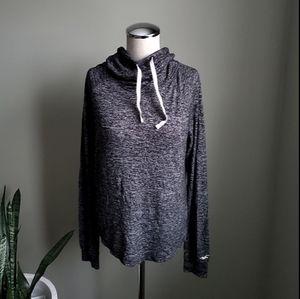 Hollister Black Heathered Sweater Size Small